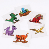Dinosaur Tattoos - Set of 6