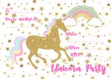 Unicorn Secret Reveal Invitations - 8 Pack
