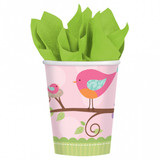 Tweet Baby Girl Cups - 8 Pack