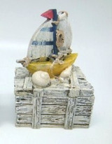 Sailing Ship Trinket Box Favour