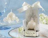 Happily Ever After Carriage Candle