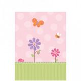 Tweet Baby Girl Paper Table Cover - 137 cm x 259 cm