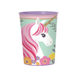 Magical Unicorn Plastic Souvenir Cup