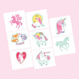 Magical Unicorn Tattoos - Pack of 8