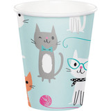 Purrfect Kitty Cat Paper Cups - Pack of 8