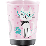 Purrfect Kitty Cat Party Plastic Favour Cup