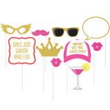 Girls Night Out Hens Night Photo Booth Props - Pack of 10