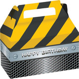 Construction Birthday Zone Treat Boxes - 2 Pack