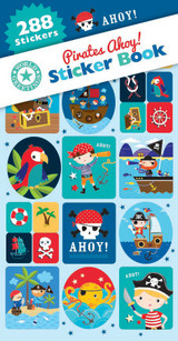 Pirates Ahoy! Sticker Book - 12 Sheets