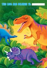 Prehistoric Dinosaur Loot Bags - Pack of 8