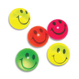 Smiley Face Emoji Bouncing Balls - 5 Pack