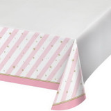 Twinkles Toes Ballerina Plastic Table Cover 137cm x 259cm