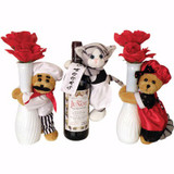 "Chef Hugger 9"" Bears - Set of 3"