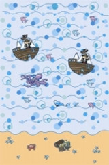 Pirate Party Plastic Table Cover 137 x 182 cm