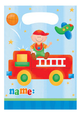 Fun at One 1st Birthday Boy Loot Bags - Pack of 8