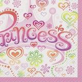 Princess Diva Luncheon Napkins - 16 Pack