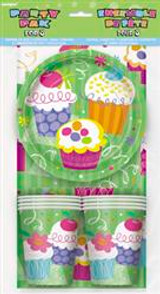 Cupcake Party Party Pack  for 8 Guests