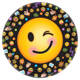 LOL Emoji Party Dinner Plates - Pack of 8