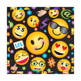 LOL Emoji Lunch Napkins - Pack of 16