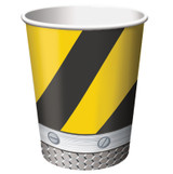 Construction Birthday Zone Cups - 8 Pack