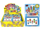 Pirate Finger Tattoos