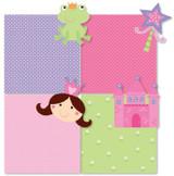Mini Shapecut Notebooks - Fairy Princess Theme - Pack of 4