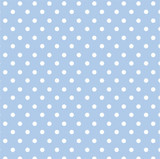 Blue Dots Folded Wrapping Paper