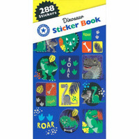 Dinosaur Sticker Book - 12 Sheets