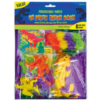 Prehistoric Dinosaur Favour Pack for 8 - 48 Pieces