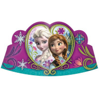 Disney Frozen Tiaras with Glitter - 8 Pack