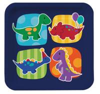 Little Dinosaur Dinner Plates - 8 Pack