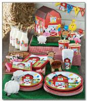 Farmhouse Fun 17.4 cm Luncheon Plates - 8 Pack