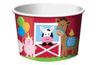Farmhouse Fun 6.3cm x 8.8cm Treat Cups - 6 Pack