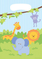 Forest Friends Animals Loot Bags - 8 Pack