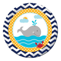 Ahoy Matey Luncheon Plates - 8 Pack