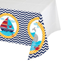Ahoy Matey 137cm x 259cm Plastic Tablecover