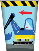 Construction Party Cups - 8 Pack