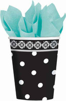 Damask & Dots Paper Cups - Pack of 18