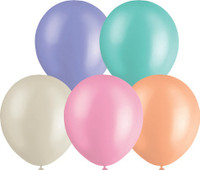 Pastel Assorted 30cm Balloons - 10 Pack