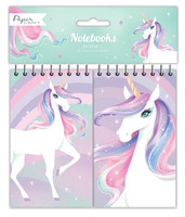 Unicorn Party Notebooks  - 2 Pack