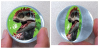 Jurassic Dinosaur Bounce Ball Favour - Pack of 6