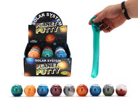 Solar System Planet Space Themed Putty