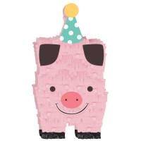 Barnyard Farm Animal Birthday Pig Mini Decoration
