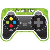 Level Up Gamer Invitations - 8 Pack