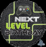 Level Up Gamer Next Level Foil Balloon