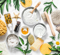 Make Your Own Soothing Clay Mask - Coconut Milk & Oatmeal