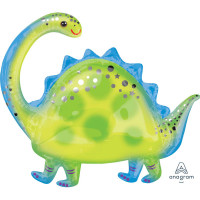 Brontosaurus Dinosaur 81cm Supershape Foil Balloon