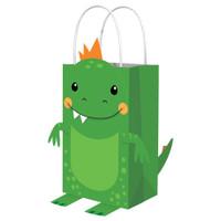 Dino-Mite Dinosaur Create Your Own Kraft Bags - 8 Pack
