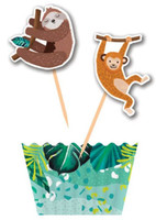 Jungle Party Cupcake Kit - 12 Pack