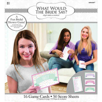 What Would the Bride Say?  Bridal Shower Game